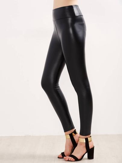 Faux Leather Skinny Leggings