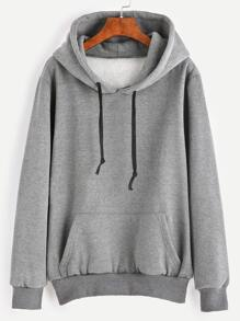 Kangaroo Pocket Hooded Sweatshirt