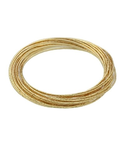 Gold Plated Chain Link Bracelets