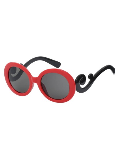 Red Fashion Vocation Sunglasses