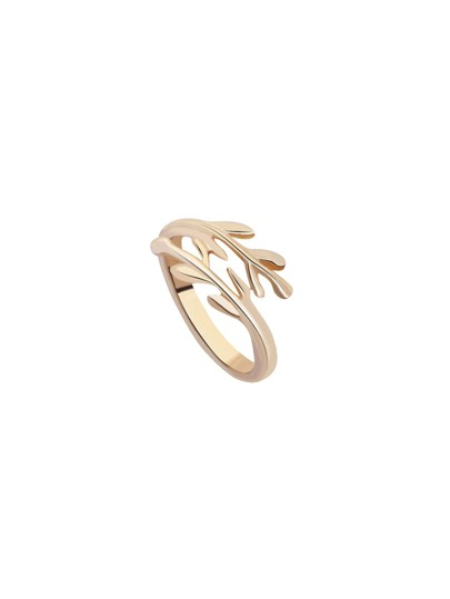 Gold Leaf Wrap Ring