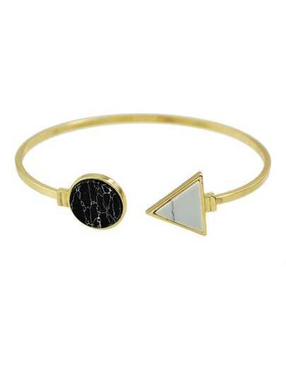 Black Turquoise Cuff Bracelet