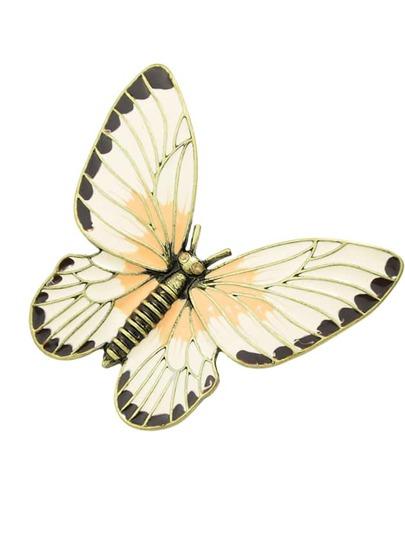 Broche en forme de papillon tendance