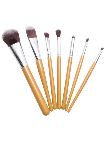 7PCS Gold Professional Makeup Brush Set