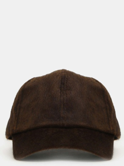 Textured Baseball Hat OLIVE