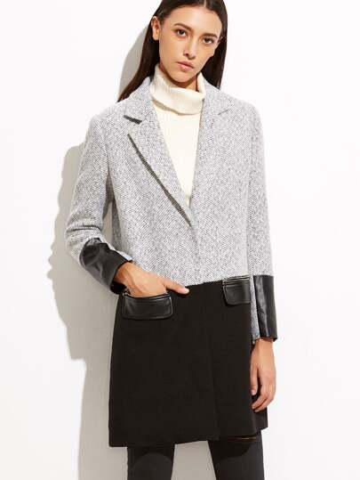 Wool Coat Outerwear Cheap Sale For Women-Us SheIn(Sheinside)