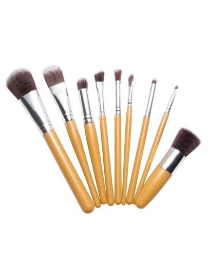 9PCS Gold Professional Makeup Brush Set