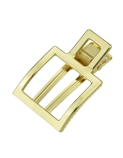 Gold Plated Geometric Hair Comb