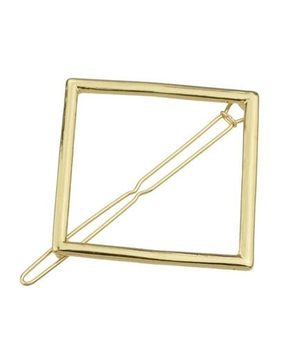 Gold Plated Geometric Hair Clip