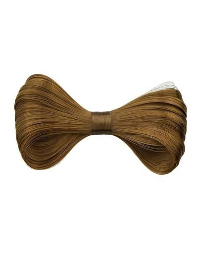 Lightbrown Synthetic Hair Bowknot Hair Clip