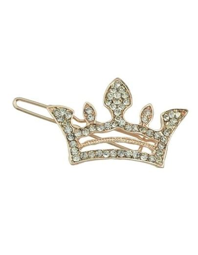 Rosegold Crown Hair Clip