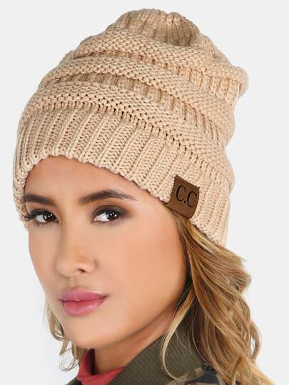 Classic Knit Beanie NUDE