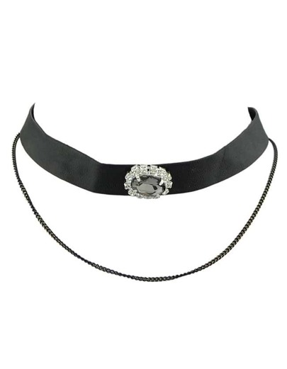 Pu Leather Collar Necklace