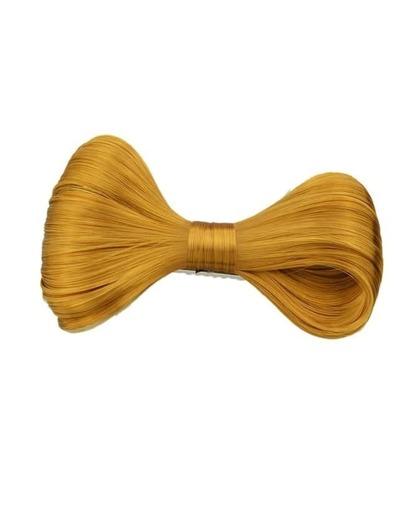 Gold Synthetic Hair Bowknot Hair Clip