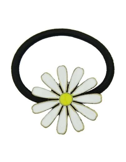 White Flower Elastic Hair Rope
