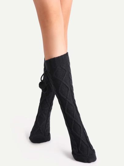 جوارب سوداء