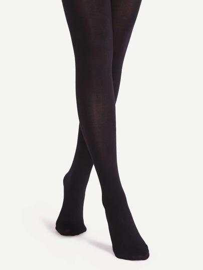 Black High Stretch Pantyhose Stockings