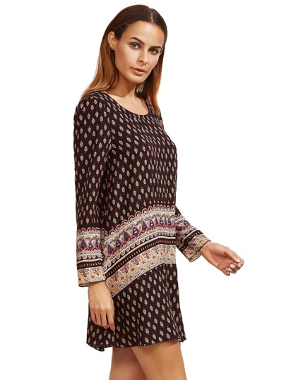 Tribal Print Beach Dress