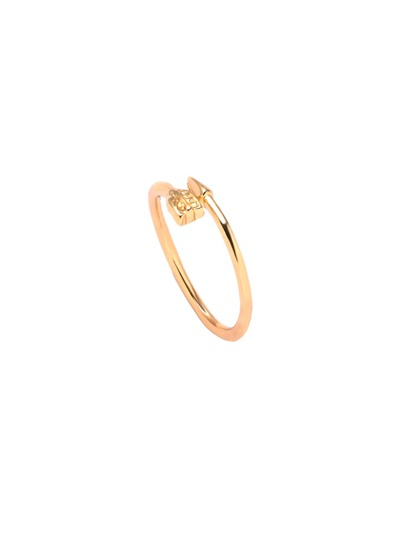 Gold Plated Arrow Wrap Ring