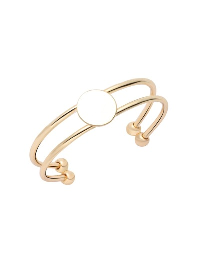 Gold Plated Double Layer Wrap Bangle