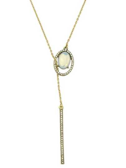 New Rhinestone Long Chain Necklace