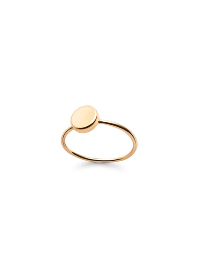 Gold Plated Smooth Design Ring