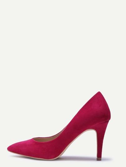 أحذية ذات الكعب العالي -حمراء