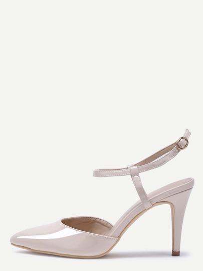 أحذية ذات الكعب العالي -لون مشمش