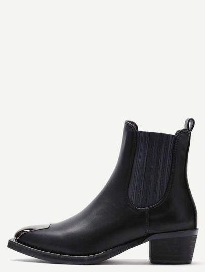 модные искусственные кожаные ботинки