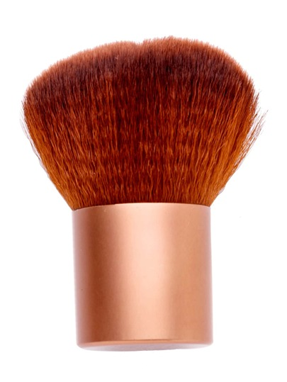 Gold Cosmetic Makeup Foundation Powder Brush