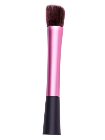 Pink Oblique Head Cosmetic Makeup Foundation Brush