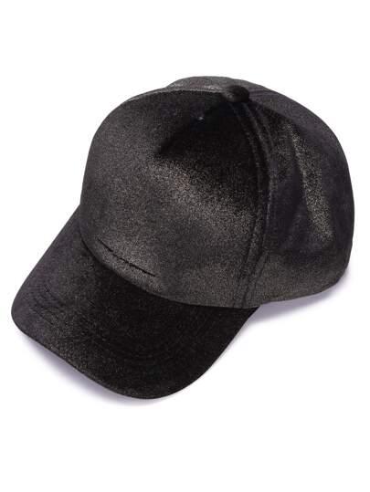Cappello Di Baseball Casuale Elegante - Nero