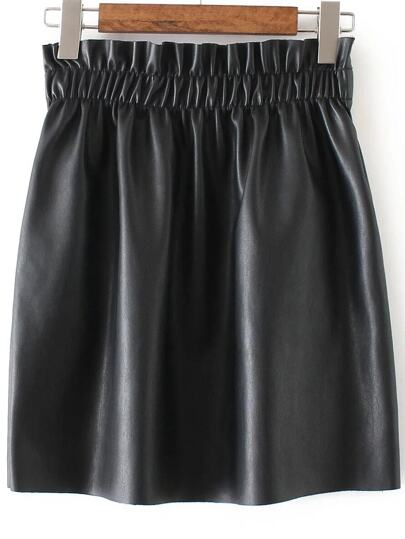 Elastic Waist Volume skirt
