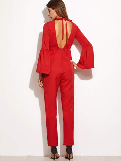Red Jumpsuits For Women -Us SheIn(Sheinside)