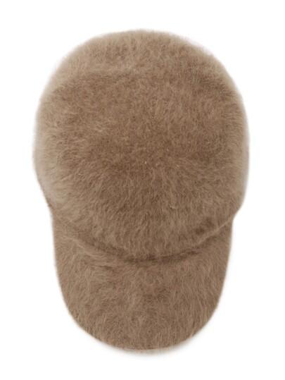 Fuzzy Camel Warm Baseball Cap