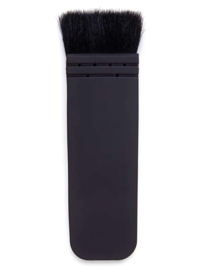 Black Flat Makeup Brushes