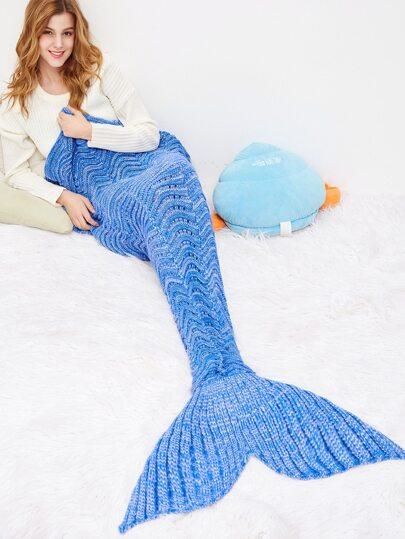 Wave Modellierung Fisch Dail Decke-königsblau