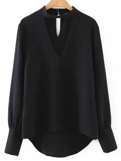 Black Blouses, Shop Women's Black Blouses Online | SheIn.com