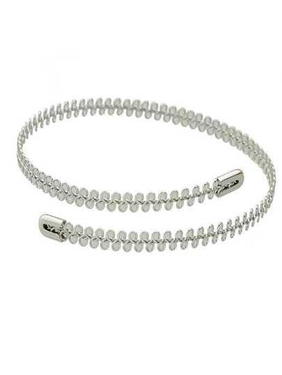 Silver Color Punk Rock  Choker Necklaces