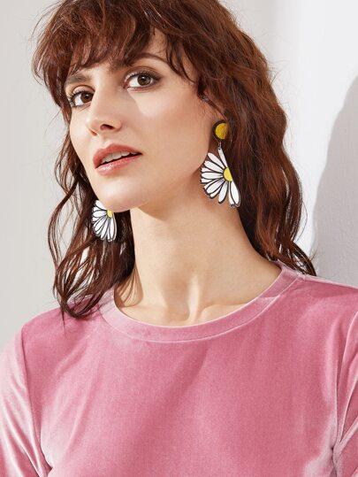 A forma di fiore polsini sveglia dell'orecchio