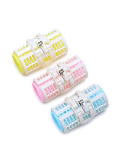 Plastic Hair Rollers 3Pcs