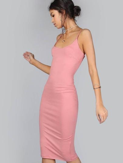 Bodycon Spaghetti Strap Dress