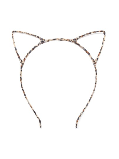 Iron-wire Structure Cat Ear Hair Band
