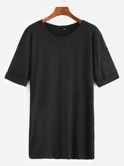 Camiseta de manga corta - negro