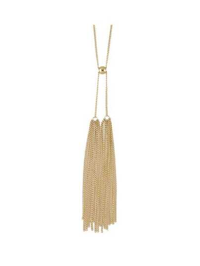 Fashion Gold Color Long Tassel Chain Necklace