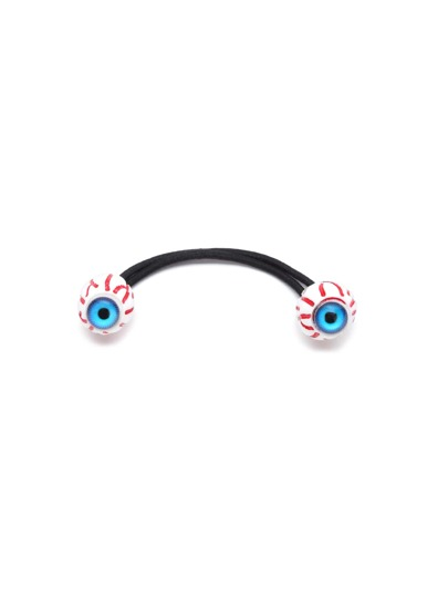 Blue Eyeball Hair Tie