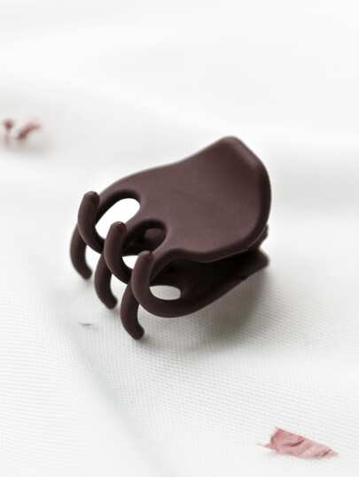 Brown Cute Hair Claw Clip