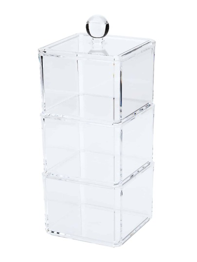 3 couches claires Professional Makeup Storage