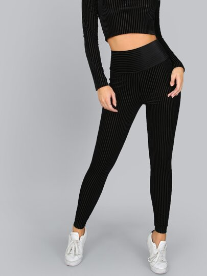 Zip Back Skinny Pants