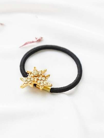 Gold Star Delicate Hair Tie